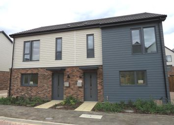 Thumbnail 3 bed semi-detached house for sale in Countess Way, Broughton, Milton Keynes