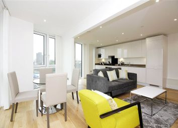 Thumbnail 2 bed flat to rent in Sky View Tower, Stratford