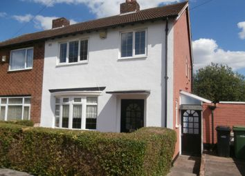 Thumbnail 3 bed semi-detached house to rent in Blackthorne Road, Dudley
