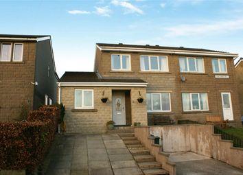 Thumbnail 4 bed semi-detached house for sale in Longlands Avenue, Denholme, Denholme, West Yorkshire