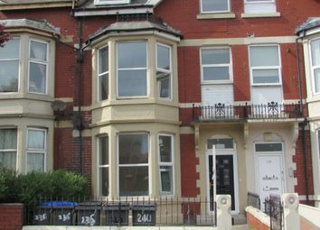 Thumbnail 2 bed flat to rent in Hornby Road, Blackpool, Lancashire
