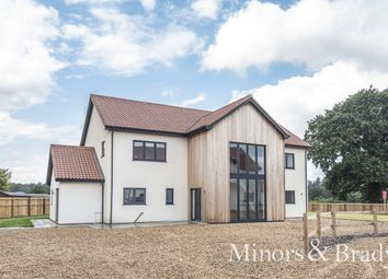 Thumbnail 4 bed detached house for sale in Taverham Road, Felthorpe, Norwich