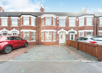 3 bed terraced house for sale in Cardigan Road, Hull, East Yorkshire HU3