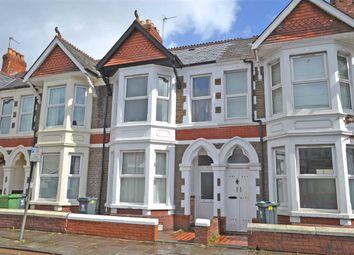 Thumbnail 3 bedroom terraced house to rent in Heathfield Road, Heath/Gabalfa, Cardiff