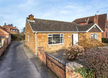 Thumbnail 3 bed detached bungalow to rent in Kelfield Road, Riccall, York