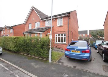 Thumbnail 3 bed semi-detached house for sale in Devoke Road, Wythenshawe, Manchester