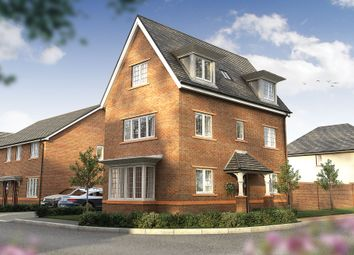 "Thumbnail 4 bed detached house for sale in ""The Medina"" at Wood Lane, Binfield, Bracknell"