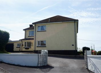 Thumbnail 4 bed detached house for sale in Llannon Road, Llanelli