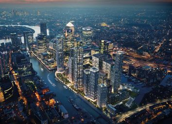 Thumbnail 1 bed flat for sale in Canary Wharf, London