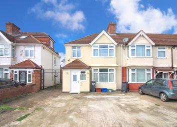 Thumbnail 3 bed end terrace house for sale in Clevedon Gardens, Cranford