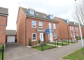 Thumbnail 3 bed semi-detached house for sale in Peregrine Way, Warwick, Warwickshire