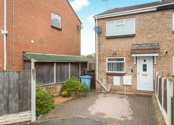 Thumbnail 2 bed end terrace house for sale in Holding, Larwood, Worksop