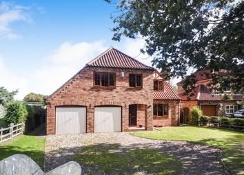 Thumbnail 5 bed detached house for sale in Owmby Road, Spridlington, Market Rasen