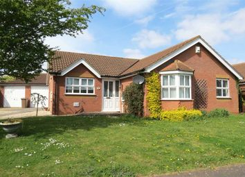 Thumbnail 3 bed detached bungalow for sale in Deira Close, Quarrington, Sleaford