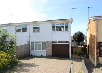 Thumbnail 4 bed semi-detached house to rent in Durley Close, Benfleet, Essex