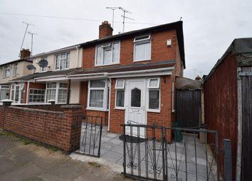 Thumbnail 3 bedroom semi-detached house for sale in French Road, Evington, Leicester