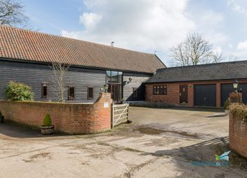 Thumbnail 4 bedroom barn conversion for sale in Bull Lane, Pinford End, Hawstead, Bury St. Edmunds