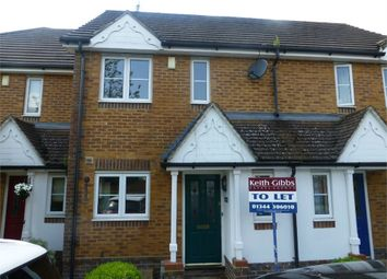 Thumbnail 2 bed terraced house to rent in Lyon Oaks, Warfield, Berkshire