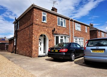 Thumbnail 3 bedroom semi-detached house for sale in Windsor Drive, Peterborough
