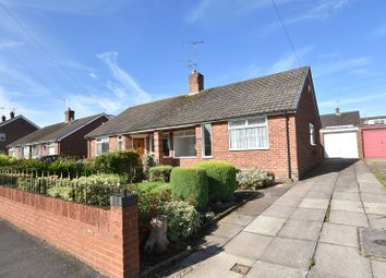 Thumbnail 1 bed semi-detached bungalow to rent in Valley Road, Weston Coyney, Stoke-On-Trent