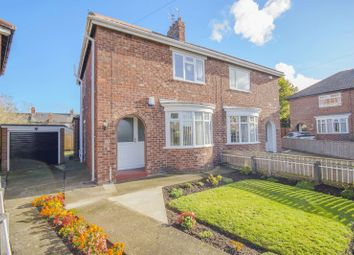 Thumbnail 3 bed semi-detached house for sale in Thirlmere Crescent, Normanby, Middlesbrough
