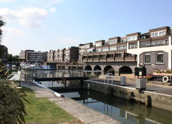 Thumbnail 2 bed flat for sale in Nero Court, Justin Close, Brentford Docks