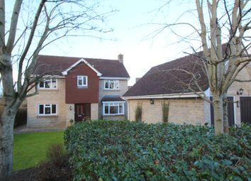 Thumbnail 5 bed detached house for sale in Sandes Close, Chippenham