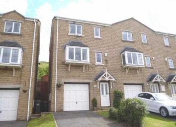 Thumbnail 3 bed town house for sale in Banks Road, Linthwaite, Huddersfield
