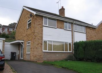 Thumbnail 3 bed semi-detached house to rent in Wesley Drive, Ketley Bank, Telford