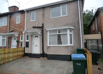 Thumbnail 4 bed end terrace house to rent in St Georges Road, Stoke, Coventry