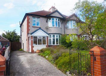 Thumbnail 3 bed semi-detached house for sale in Pendyffryn Road, Rhyl