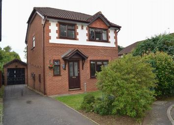 Thumbnail 3 bed detached house for sale in Baldwin Close, Spinney Hill, Northampton