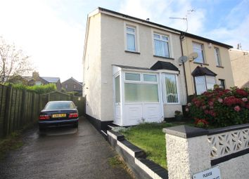 Thumbnail 2 bed semi-detached house for sale in Station Road, Griffithstown, Pontypool