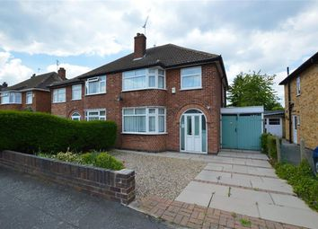 3 bed semi-detached house for sale in Bramcote Road, Wigston LE181Db LE18