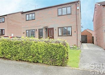 Thumbnail 2 bed semi-detached house for sale in Severn Crescent, North Wingfield, Chesterfield, Derbyshire