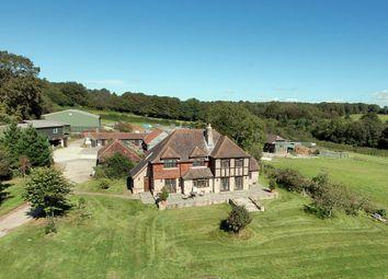 Thumbnail 5 bed equestrian property for sale in Royal Oak Lane, High Hurstwood