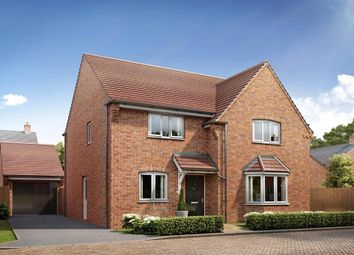 "Thumbnail 4 bed detached house for sale in ""Cambridge"" at Broughton Crossing, Broughton, Aylesbury"