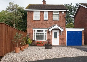 Thumbnail 3 bed detached house for sale in Norbury Close, Gnosall, Stafford