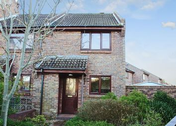 Thumbnail 2 bed end terrace house for sale in Leigh Gardens, Wimborne BH21.