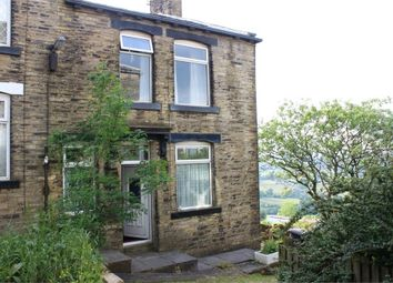 Thumbnail 2 bed end terrace house for sale in Crossley Street, Queensbury, Bradford, West Yorkshire