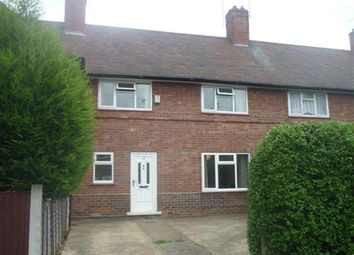 Thumbnail 3 bed terraced house to rent in Meriden Avenue, Lenton Abbey