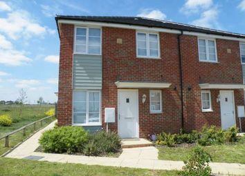 Thumbnail 1 bed terraced house to rent in Jupiter Avenue, Cardea, Stanground, Peterborough