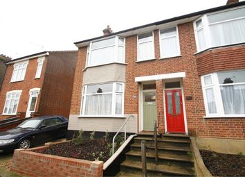 Thumbnail 3 bedroom semi-detached house for sale in Kensington Road, Ipswich, Suffolk