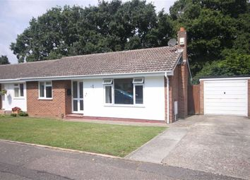 Thumbnail 2 bed semi-detached bungalow for sale in Suffolk Avenue, Christchurch, Dorset