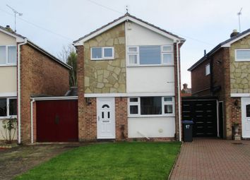 Thumbnail 3 bed detached house for sale in Friary Close, Hinckley