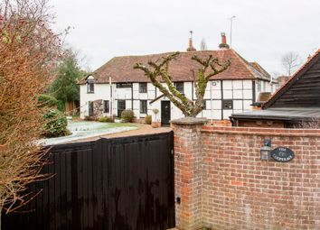 Thumbnail 4 bed cottage for sale in Eversley Cross, Hook