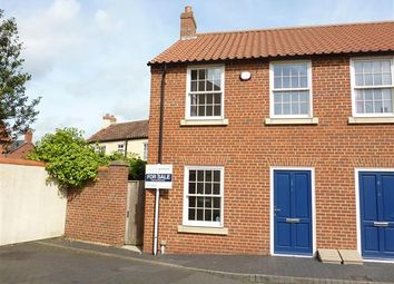 Thumbnail 2 bed town house for sale in Kings Mews, Off Northgate, Louth