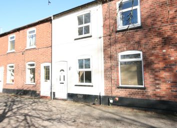 Thumbnail 2 bed terraced house to rent in Wall Lane, Nantwich
