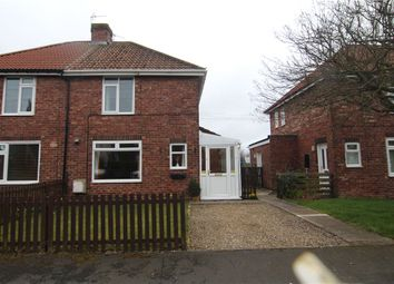 Thumbnail 2 bed semi-detached house for sale in The Crescent, Sherburn Village, Durham