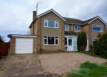 Thumbnail 3 bedroom semi-detached house for sale in Fullwell Road, Wellingborough